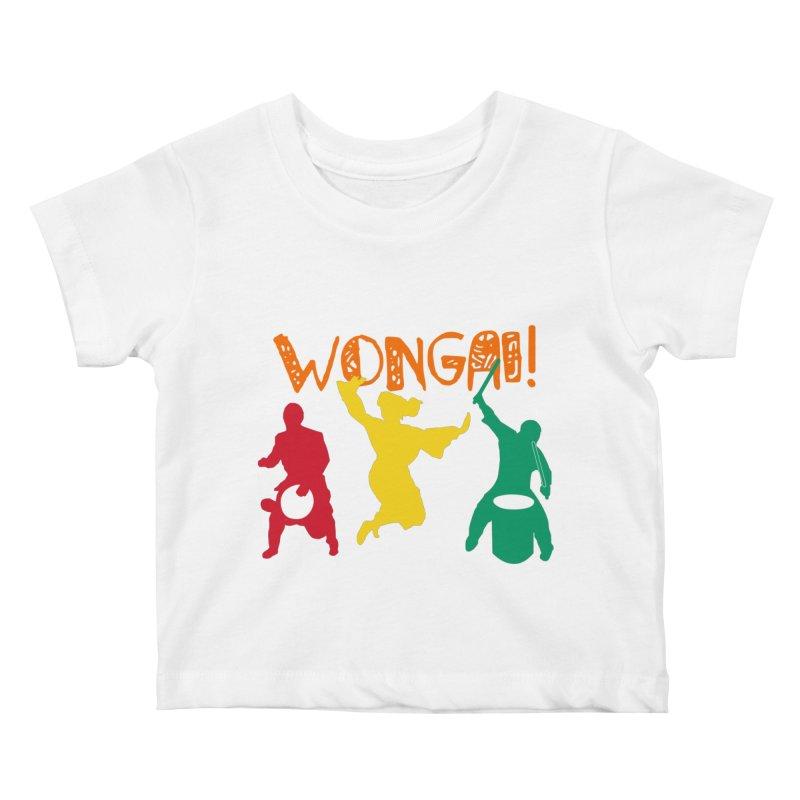 Wongai! Kids Baby T-Shirt by DJEMBEFOLEY Shop