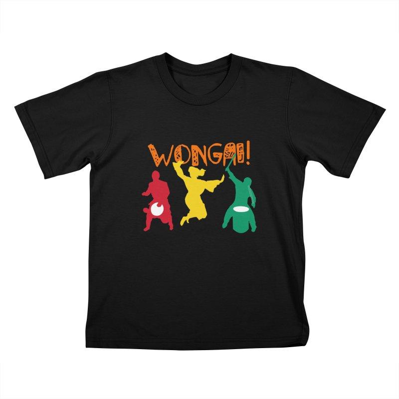 Wongai! Kids T-Shirt by DJEMBEFOLEY Shop