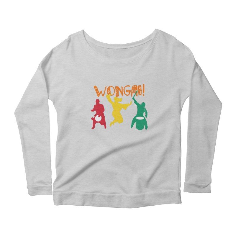 Wongai! Women's Scoop Neck Longsleeve T-Shirt by DJEMBEFOLEY Shop