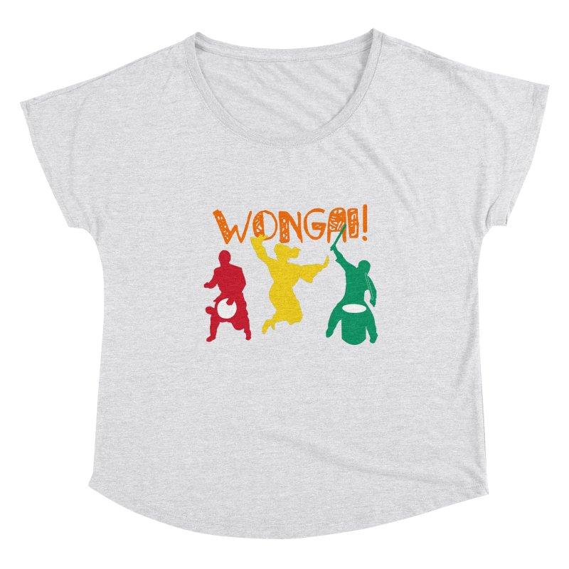 Wongai! Women's Dolman Scoop Neck by DJEMBEFOLEY Shop