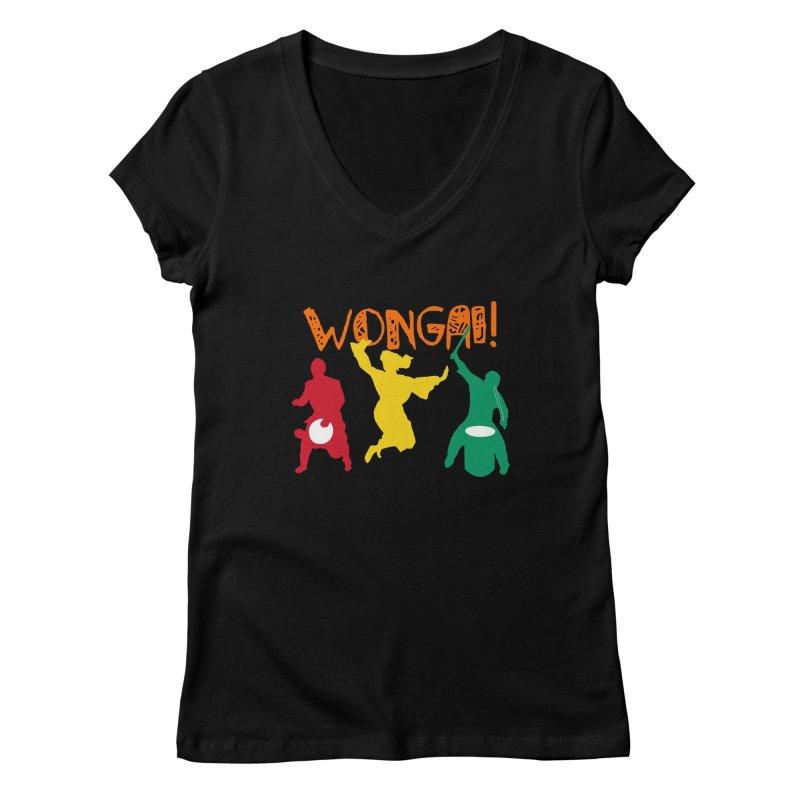 Wongai! Women's Regular V-Neck by DJEMBEFOLEY Shop