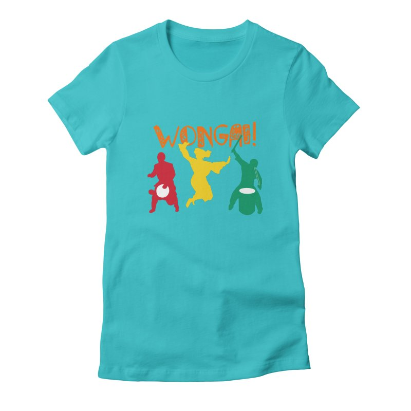 Wongai! Women's Fitted T-Shirt by DJEMBEFOLEY Shop