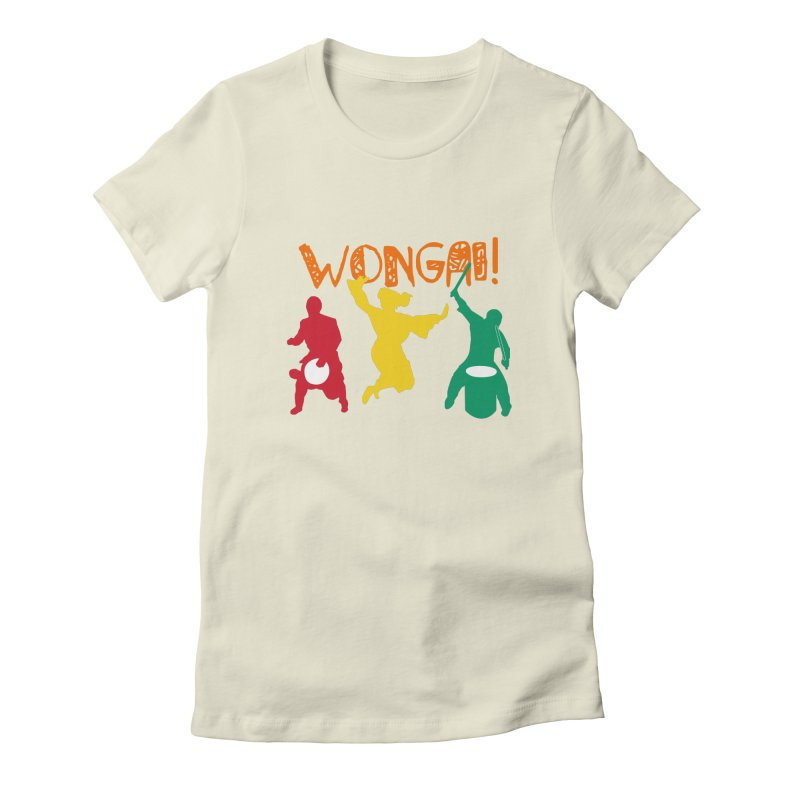 Wongai! Women's Fitted T-Shirt by DJEMBEFOLEY Shop
