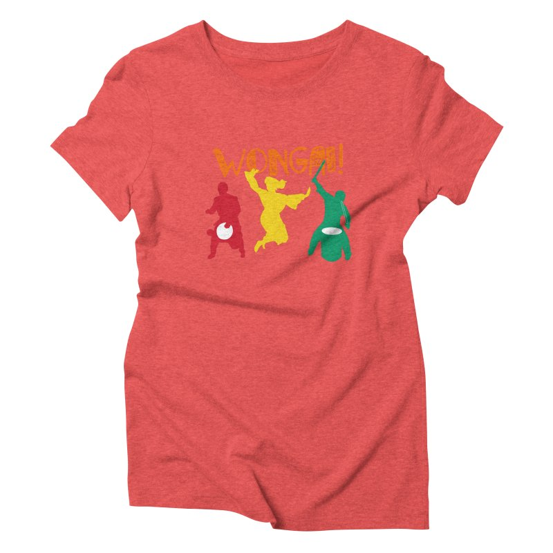 Wongai! Women's Triblend T-Shirt by DJEMBEFOLEY Shop