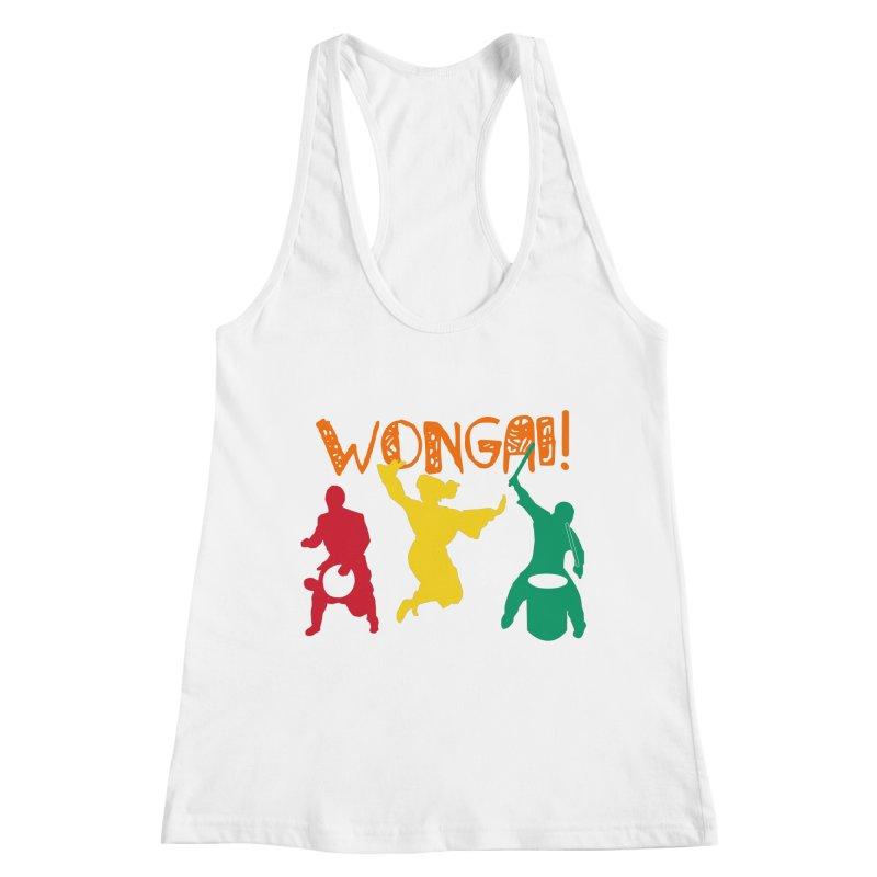 Wongai! Women's Racerback Tank by DJEMBEFOLEY Shop
