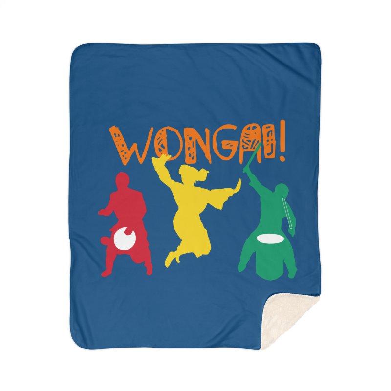 Wongai! Home Sherpa Blanket Blanket by DJEMBEFOLEY Shop