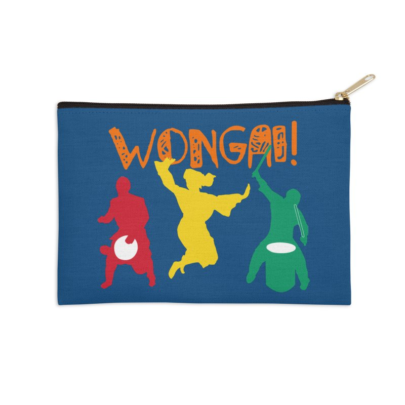 Wongai! Accessories Zip Pouch by DJEMBEFOLEY Shop