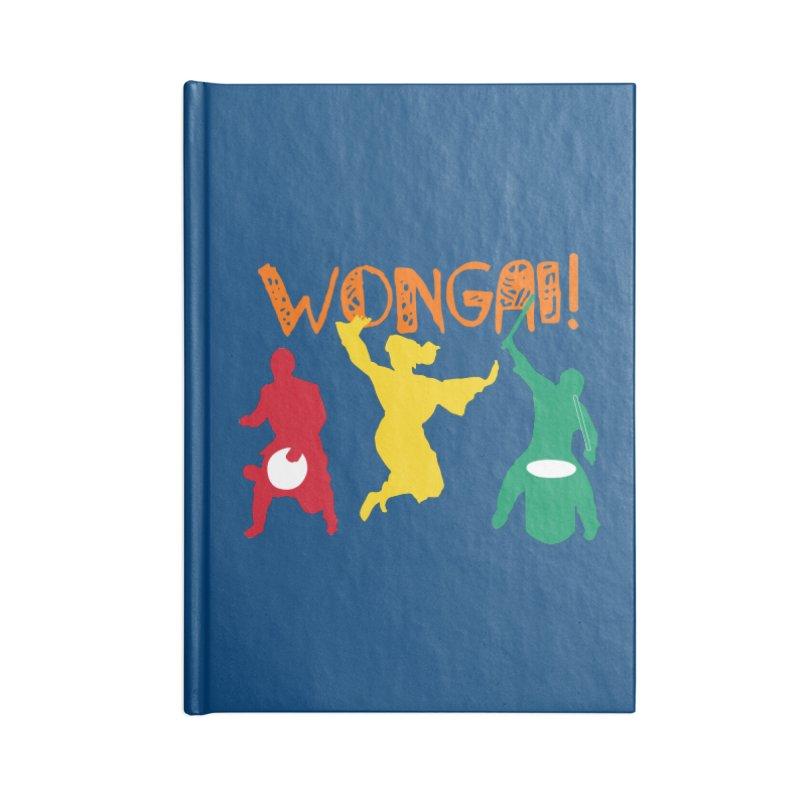 Wongai! Accessories Blank Journal Notebook by DJEMBEFOLEY Shop