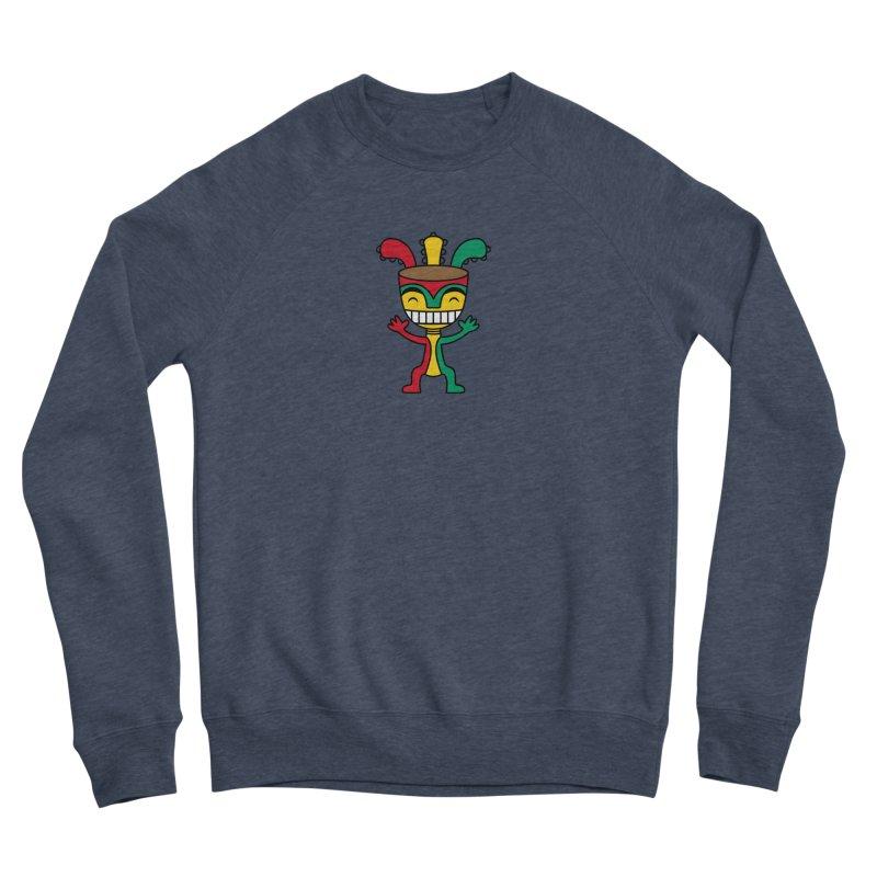 Djembehead Men's Sponge Fleece Sweatshirt by DJEMBEFOLEY Shop