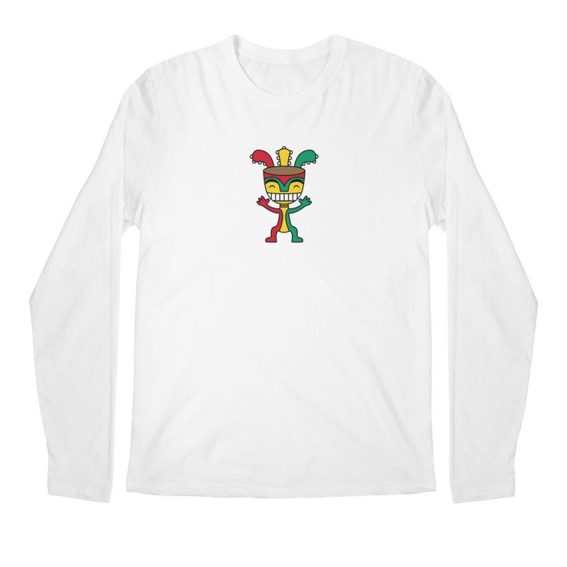 Djembehead Men's Regular Longsleeve T-Shirt by DJEMBEFOLEY Shop