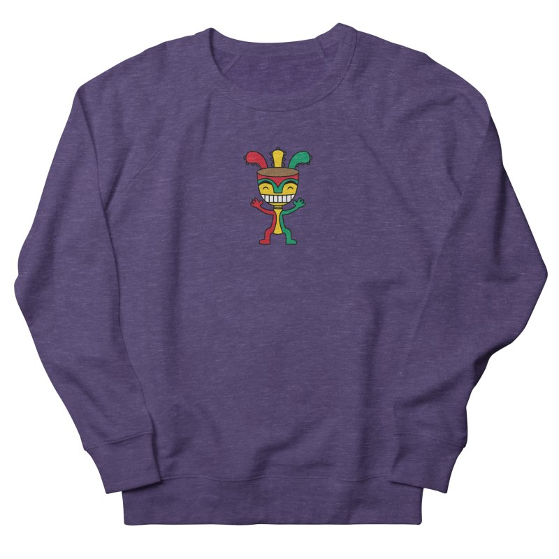 Djembehead Women's French Terry Sweatshirt by DJEMBEFOLEY Shop
