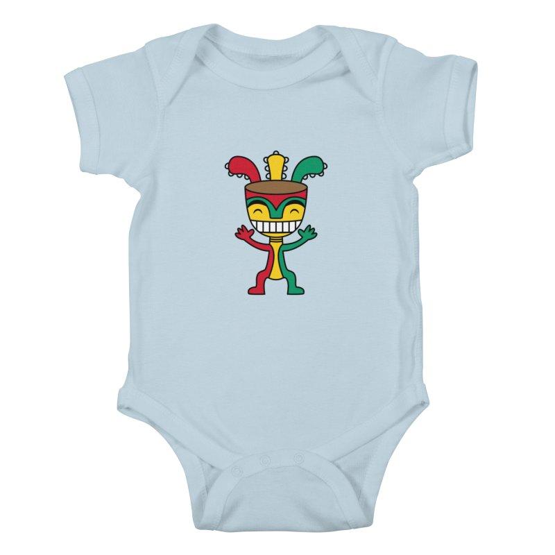 Djembehead Kids Baby Bodysuit by DJEMBEFOLEY Shop