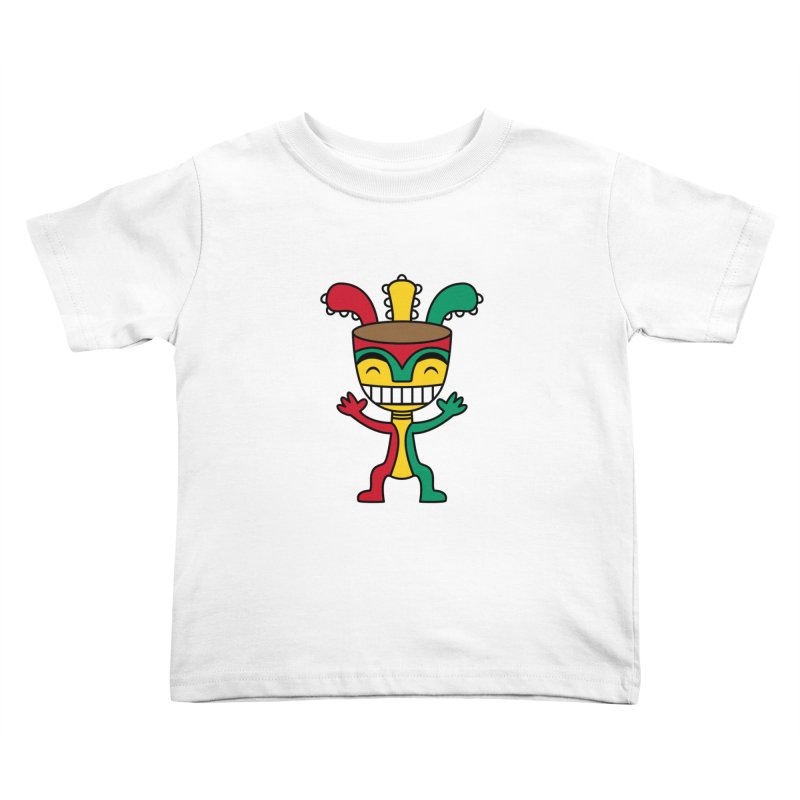 Djembehead Kids Toddler T-Shirt by DJEMBEFOLEY Shop