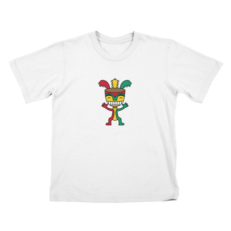 Djembehead Kids T-Shirt by DJEMBEFOLEY Shop