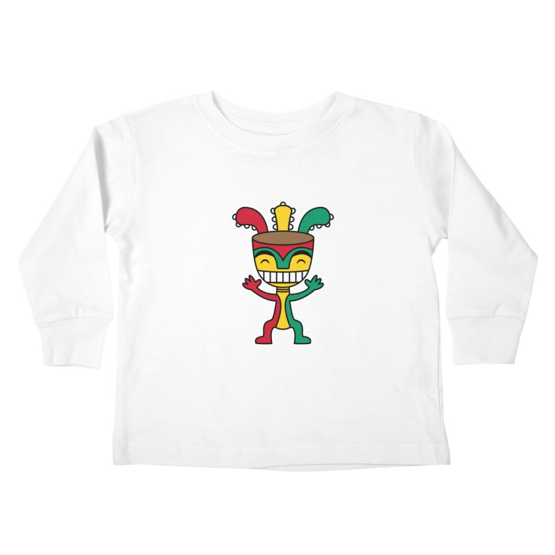 Djembehead Kids Toddler Longsleeve T-Shirt by DJEMBEFOLEY Shop