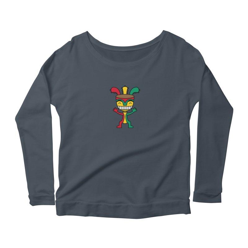 Djembehead Women's Scoop Neck Longsleeve T-Shirt by DJEMBEFOLEY Shop