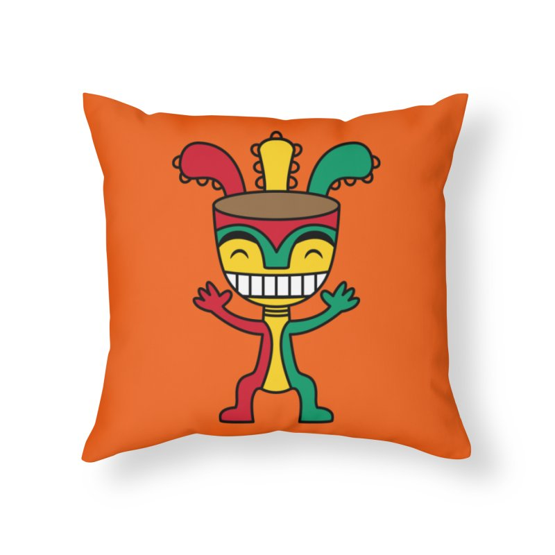 Djembehead Home Throw Pillow by DJEMBEFOLEY Shop