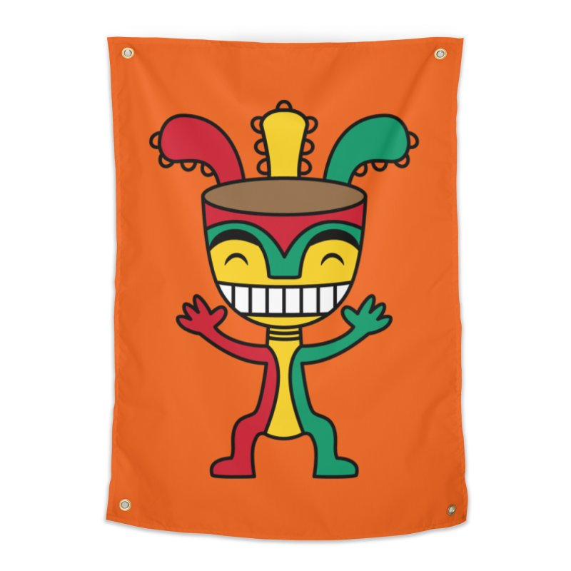 Djembehead Home Tapestry by DJEMBEFOLEY Shop