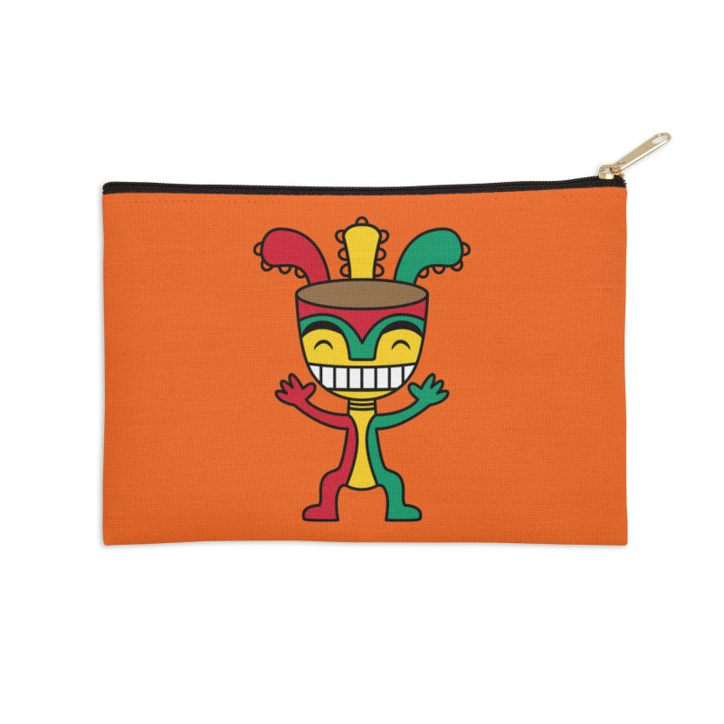Djembehead Accessories Zip Pouch by DJEMBEFOLEY Shop