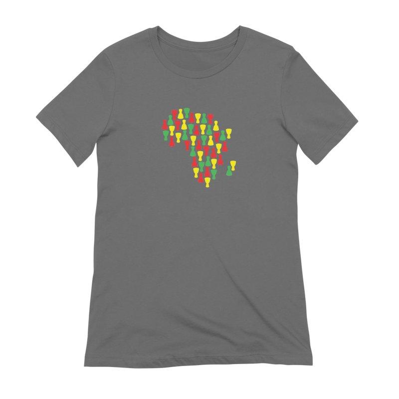 Djembe Africa Women's Extra Soft T-Shirt by DJEMBEFOLEY Shop