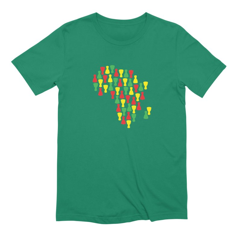 Djembe Africa Men's Extra Soft T-Shirt by DJEMBEFOLEY Shop
