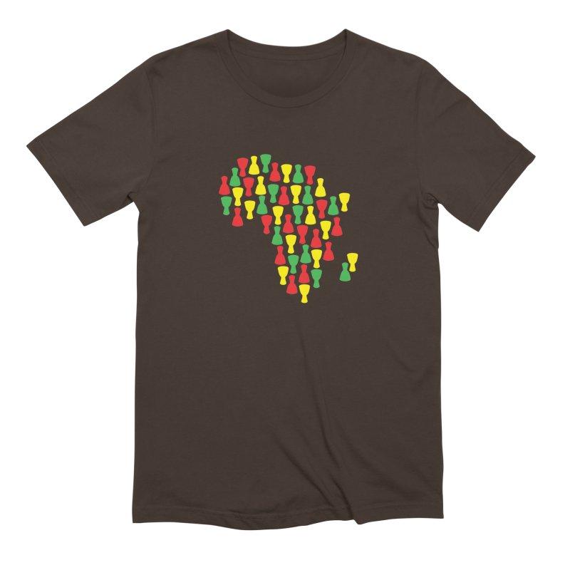 Djembe Africa Men's Extra Soft T-Shirt by DJEMBEFOLEY Shop
