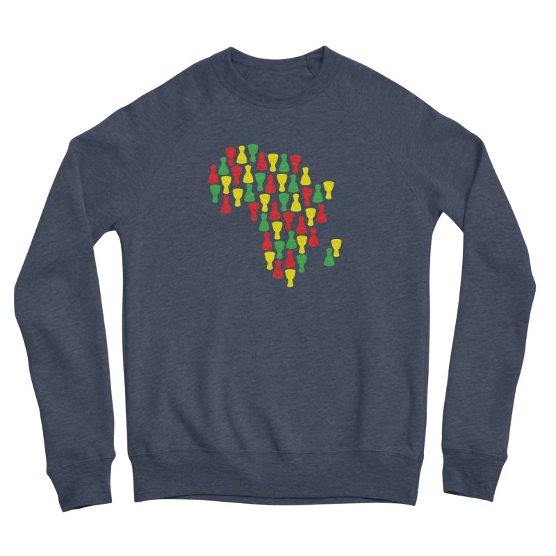 Djembe Africa Men's Sponge Fleece Sweatshirt by DJEMBEFOLEY Shop