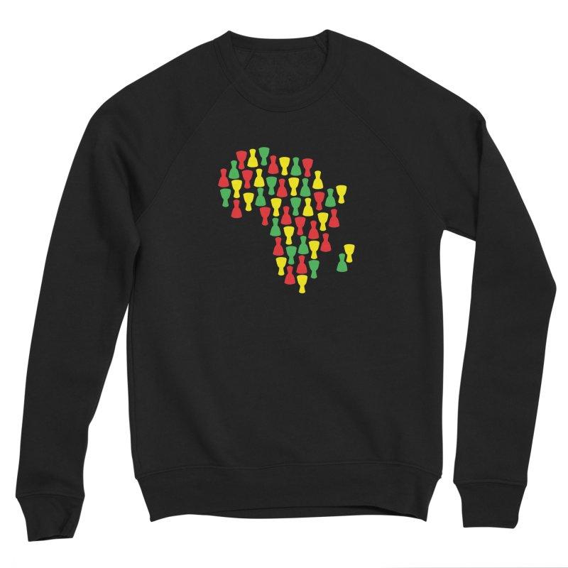 Djembe Africa Men's Sponge Fleece Sweatshirt by DJEMBEFOLEY Shop