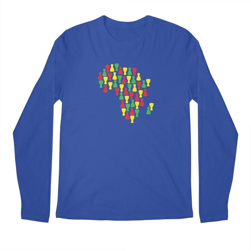 Djembe Africa Men's Regular Longsleeve T-Shirt by DJEMBEFOLEY Shop