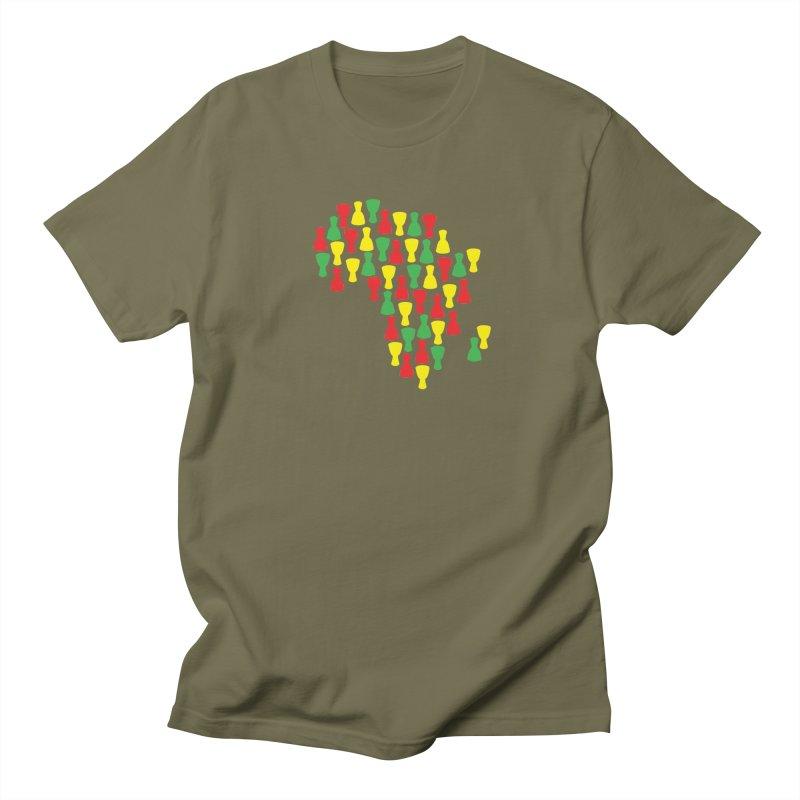 Djembe Africa Women's Regular Unisex T-Shirt by DJEMBEFOLEY Shop