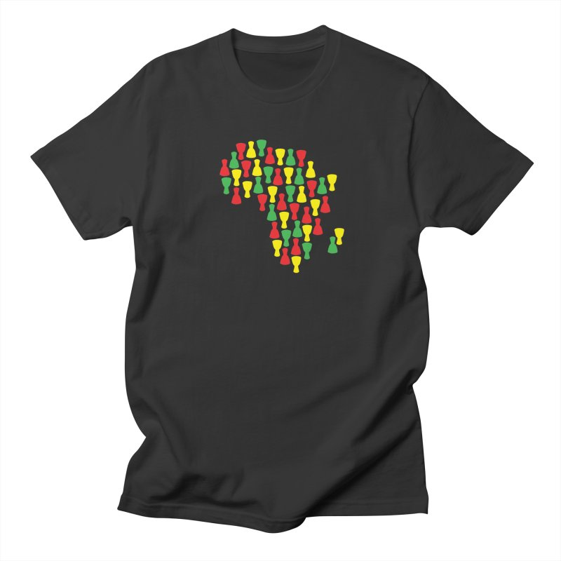 Djembe Africa Men's Regular T-Shirt by DJEMBEFOLEY Shop