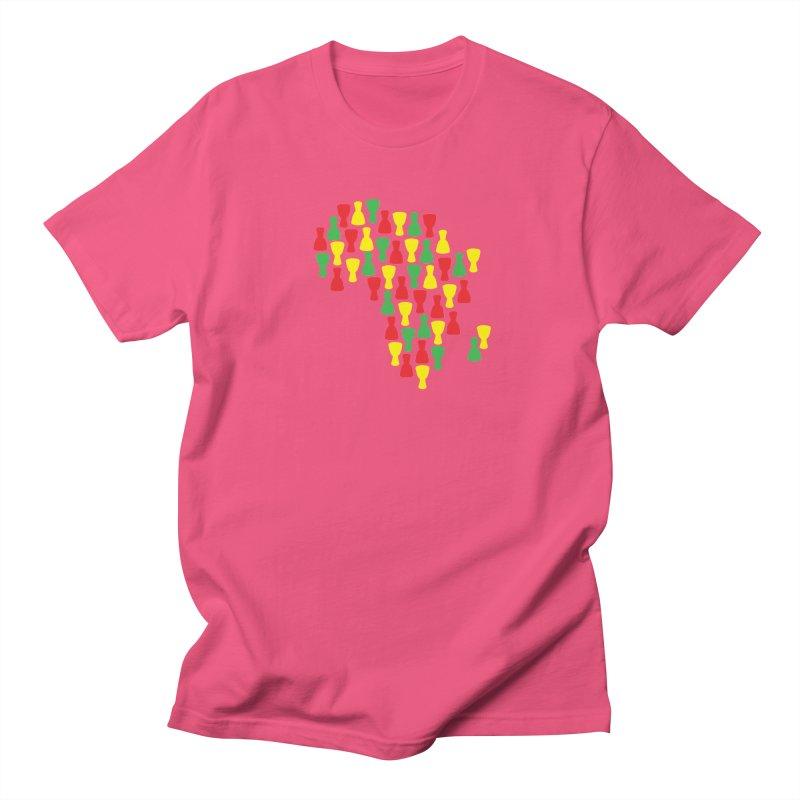 Djembe Africa Men's Regular T-Shirt by DJEMBEFOLEY Shop
