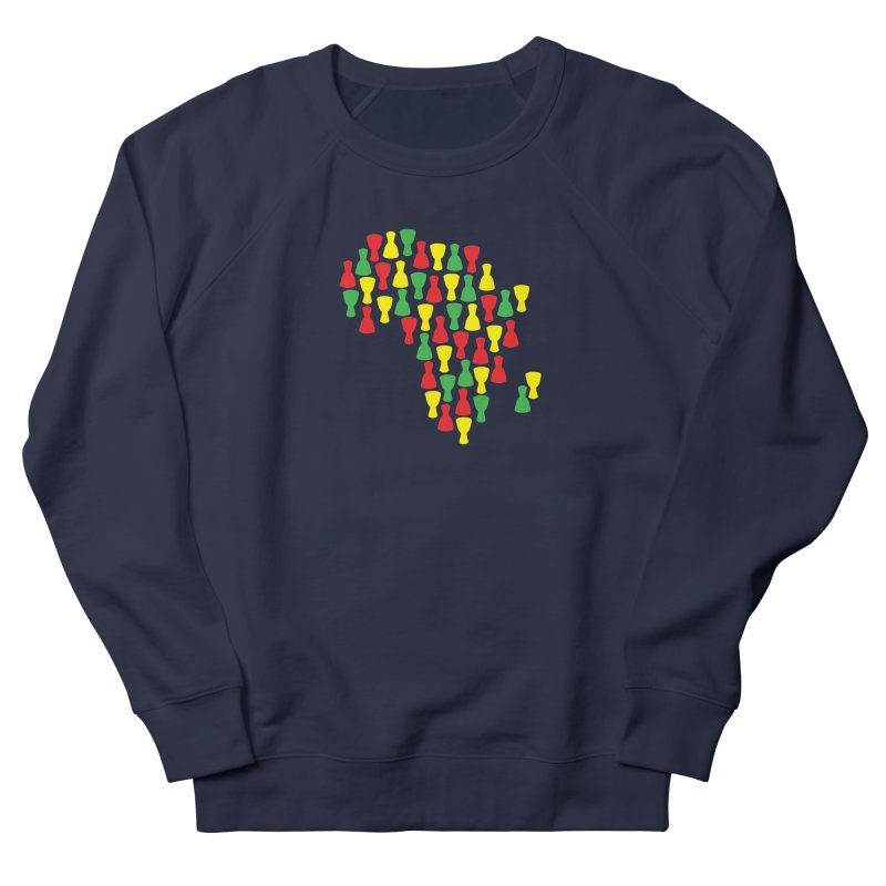 Djembe Africa Women's French Terry Sweatshirt by DJEMBEFOLEY Shop
