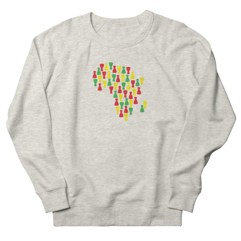 Djembe Africa Women's French Terry Sweatshirt by DJEMBEFOLEY Shop