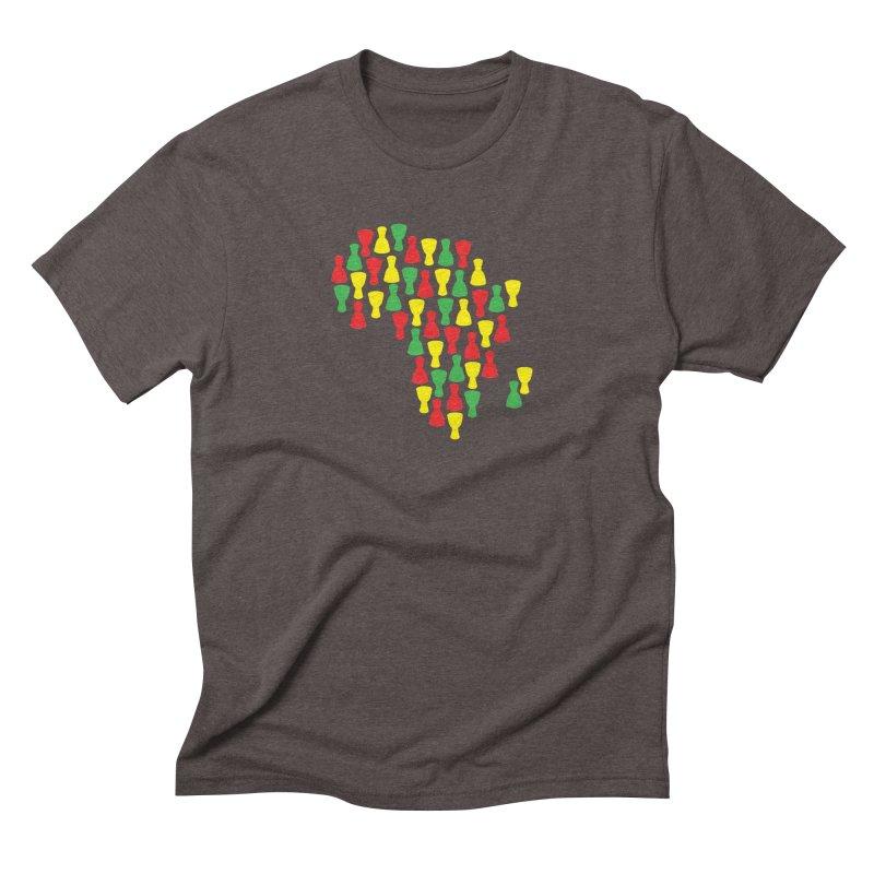 Djembe Africa Men's Triblend T-Shirt by DJEMBEFOLEY Shop