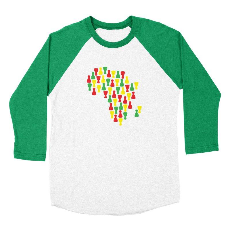 Djembe Africa Women's Baseball Triblend Longsleeve T-Shirt by DJEMBEFOLEY Shop