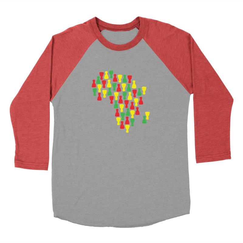 Djembe Africa Men's Baseball Triblend Longsleeve T-Shirt by DJEMBEFOLEY Shop