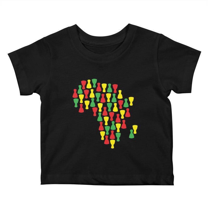 Djembe Africa Kids Baby T-Shirt by DJEMBEFOLEY Shop