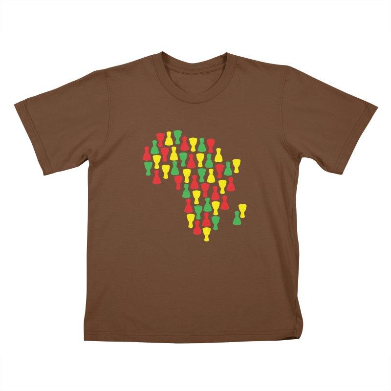 Djembe Africa Kids T-Shirt by DJEMBEFOLEY Shop