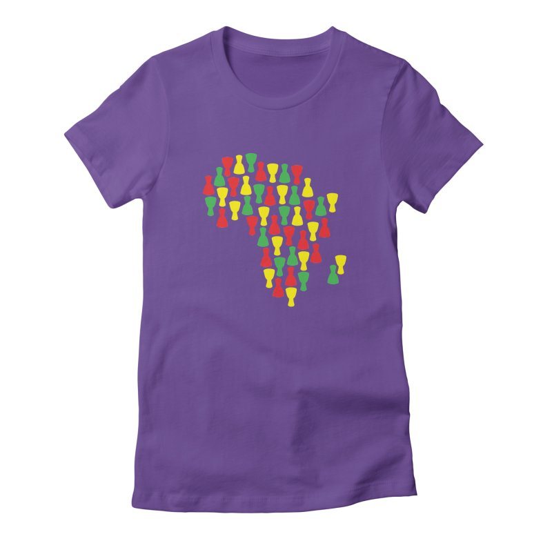 Djembe Africa Women's Fitted T-Shirt by DJEMBEFOLEY Shop