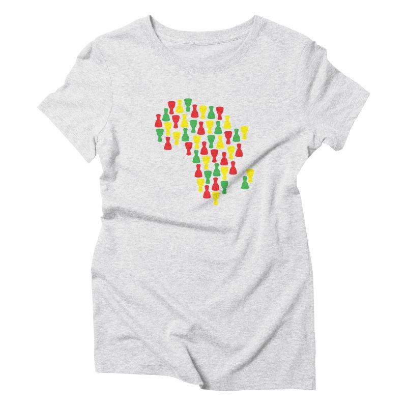 Djembe Africa Women's Triblend T-Shirt by DJEMBEFOLEY Shop