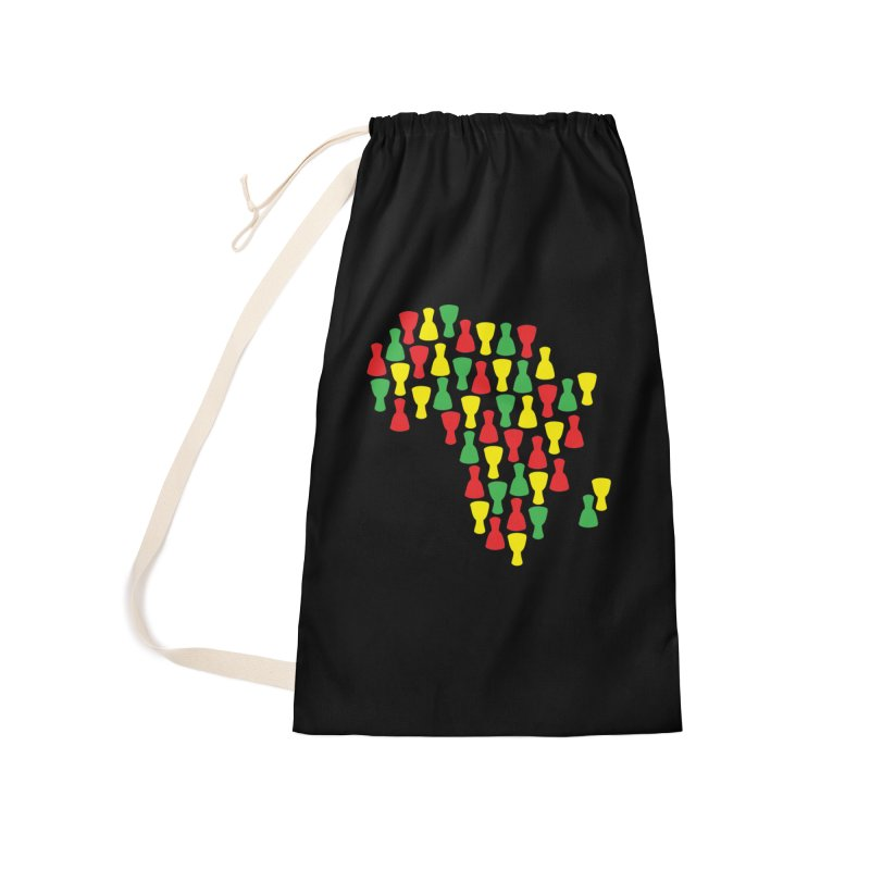 Djembe Africa Accessories Laundry Bag Bag by DJEMBEFOLEY Shop
