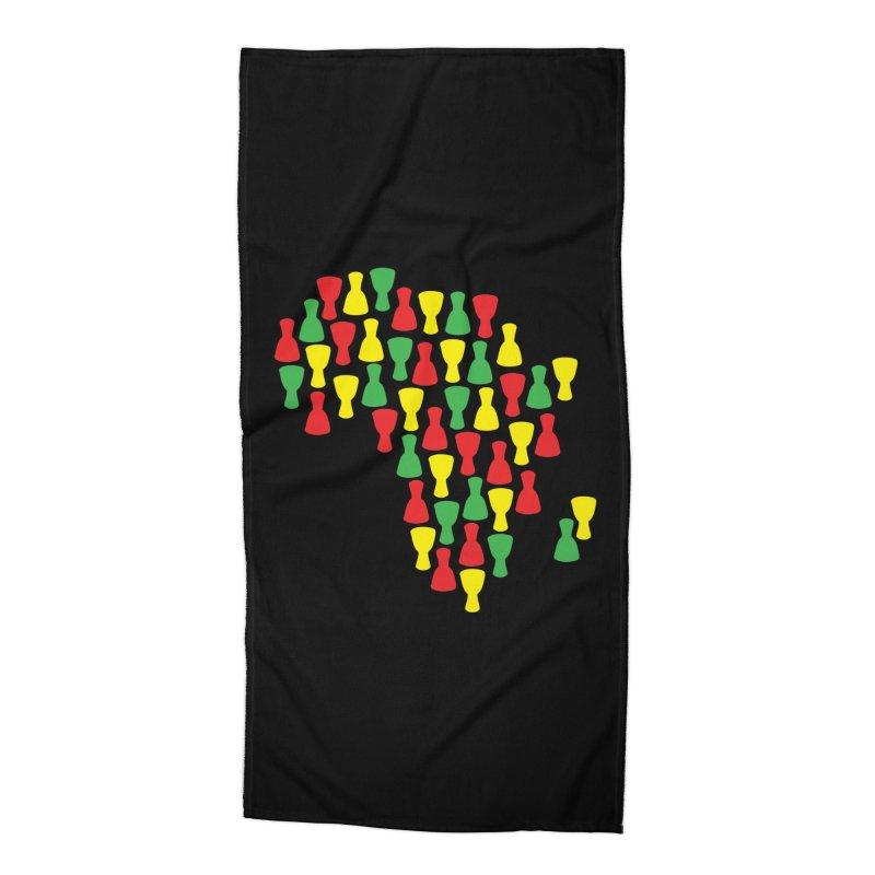 Djembe Africa Accessories Beach Towel by DJEMBEFOLEY Shop