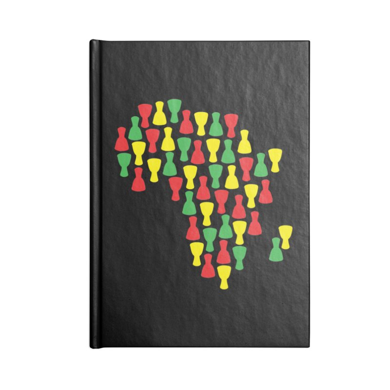 Djembe Africa Accessories Lined Journal Notebook by DJEMBEFOLEY Shop