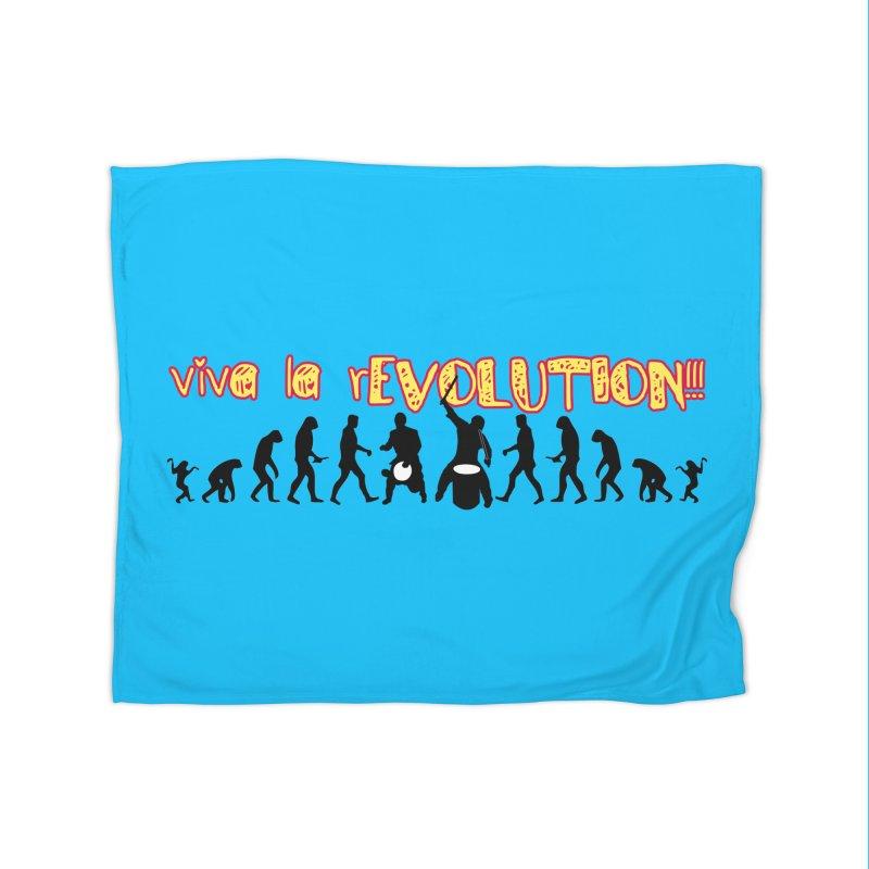 Viva la rEVOLUTION! Home Fleece Blanket Blanket by DJEMBEFOLEY Shop