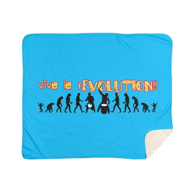 Viva la rEVOLUTION! Home Sherpa Blanket Blanket by DJEMBEFOLEY Shop