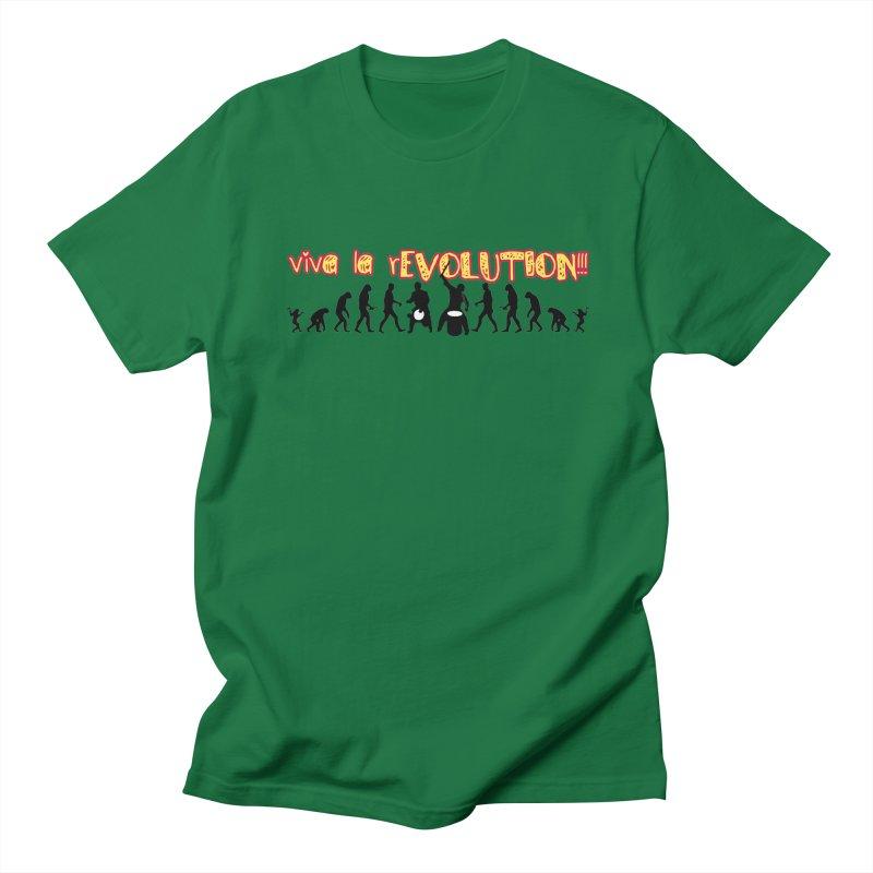 Viva la rEVOLUTION! Men's T-Shirt by DJEMBEFOLEY Shop