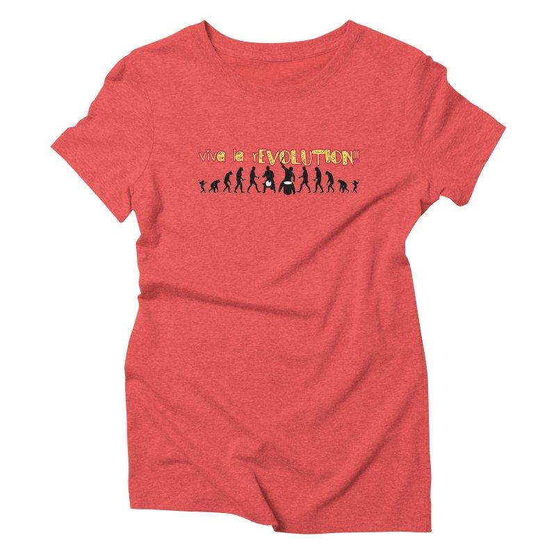 Viva la rEVOLUTION! Women's T-Shirt by DJEMBEFOLEY Shop