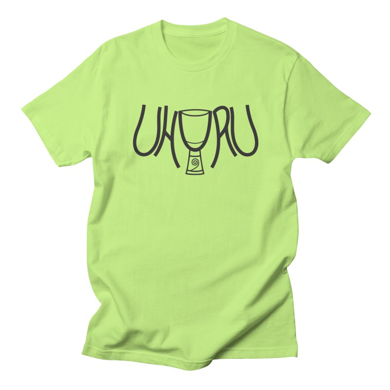 Uhuru Men's Regular T-Shirt by DJEMBEFOLEY Shop