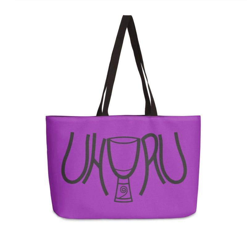 Uhuru Accessories Weekender Bag Bag by DJEMBEFOLEY Shop